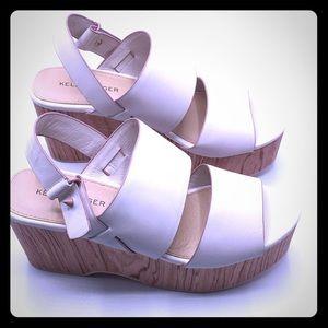 NWOT Kelsi Dagger Brooklyn Nash platform sandal